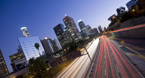 Angeles Los πανοραμική Στοκ Φωτογραφίες