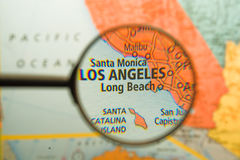 Angeles Los που ενισχύεται Στοκ Φωτογραφία