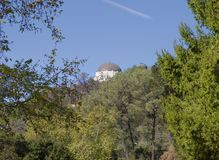 Angeles Los Το παρατηρητήριο Griffith στο πάρκο Στοκ φωτογραφία με δικαίωμα ελεύθερης χρήσης