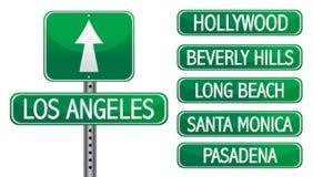 Angeles Los διανυσματική απεικόνιση