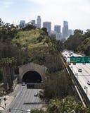 angeles motorväg los royaltyfri fotografi