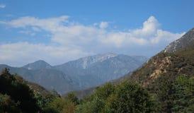 Angeles National Forest, San Gabriel Mountains, de Provincie van Los Angeles, Californië Stock Afbeelding