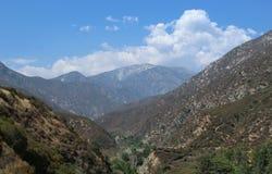 Angeles National Forest, San Gabriel Mountains, de Provincie van Los Angeles, Californië Royalty-vrije Stock Foto's