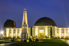 angeles obserwatorium Griffith los zdjęcie stock