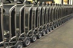 angeles shoppar den kommersiella los yttersidan trolleys Arkivbild