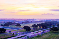 Angeles stadsFilippinerna Royaltyfri Fotografi