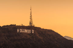 angeles znak Hollywood los Obrazy Royalty Free