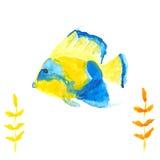 Angelfish Illustration de Vecteur