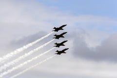 Angeli blu del blu marino degli Stati Uniti immagine stock