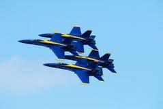 Angeli blu del blu marino degli Stati Uniti Fotografia Stock Libera da Diritti