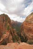 Angeli che atterrano Zion National Park fotografia stock libera da diritti