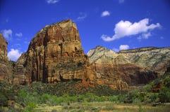 Angeli che sbarcano in canyon di Zion Immagine Stock Libera da Diritti