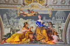 Angeli che verniciano in Italia   Immagine Stock Libera da Diritti
