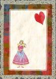Angeli con cuore Fotografia Stock