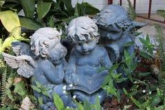 Angeli del giardino Fotografie Stock