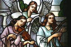 Angeli del musicista fotografie stock libere da diritti