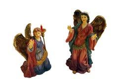 Angeli di natale Fotografia Stock