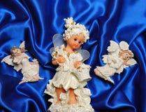 Angeli di natale Fotografie Stock