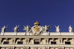 Angeli e dei che dimostrano potenza dell'Austria Immagine Stock Libera da Diritti