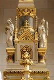Angeli, statua sull'altare principale nella cattedrale di Zagabria Fotografia Stock Libera da Diritti