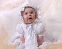 Angelic baby Royalty Free Stock Images