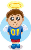 Angelic child Stock Images