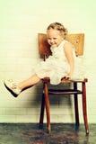 Angelic child Royalty Free Stock Image