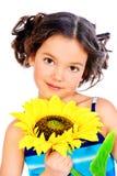 Angelic child Stock Photo