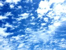 Angelic clouds over the sea, photographed at Bloubergstrand, South Africa