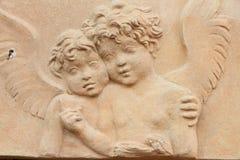 Angelic couple Stock Image