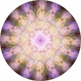 Angelic Energy Meditation Mandala simmetrica royalty illustrazione gratis