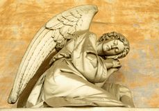 Angelic figure Royalty Free Stock Photo