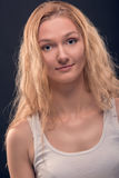 Angelic lady portrait Royalty Free Stock Image