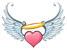 Angelic love Royalty Free Stock Images