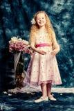 Angelic retro Stock Image