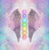 Angelic Sacred Chakras Photo libre de droits