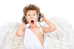 Angelic singing Stock Photography