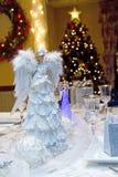 Angelic Table Setting imagem de stock