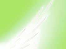 Angelic Wing Stock Photo