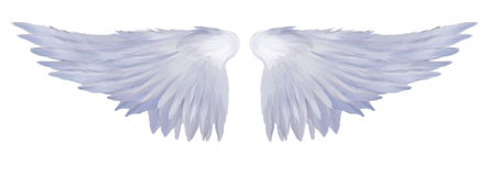 Angelic Wings stock image