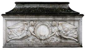 Angelic Wreath Tomb imagens de stock