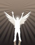 Angelic youth vector illustration
