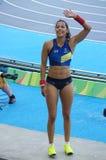 Angelica Bengtsson από τη Σουηδία κατά τη διάρκεια Rio2016 Στοκ Φωτογραφίες