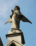 Angelical statua Obrazy Stock