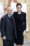 Angelina Jolie και Aida Takla ο-Reilly Στοκ φωτογραφία με δικαίωμα ελεύθερης χρήσης