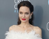Angelina Jolie 免版税图库摄影