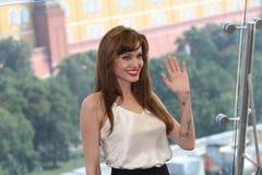 Angelina Jolie Lizenzfreies Stockfoto