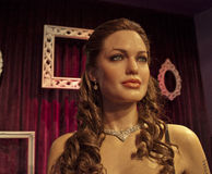 Angelina Jolie. Wax statue of Angelina Jolie at the Madame Tussauds museum in Los Angeles, CA Stock Photography