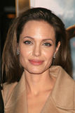 Angelina Jolie. At the Los Angeles Premiere of Beowulf. Westwood Village Theater, Westwood, CA. 11-05-07 Royalty Free Stock Photos