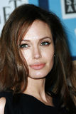Angelina Jolie. At the 2008 Film Independent Spirit Awards at Santa Monica Beach, Santa Monica, California Royalty Free Stock Images